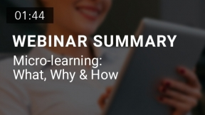 Micro-learning: What, Why & How (Summary)